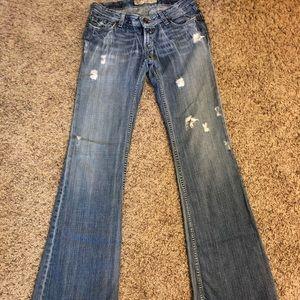 Woman's Buckle Jeans